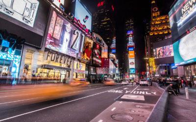 Czy reklama naulicznych witrynach LCD jest skuteczna?